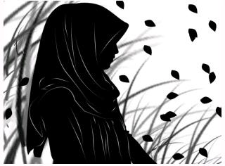 87 Gambar Anime Berjilbab Sedih Paling Keren